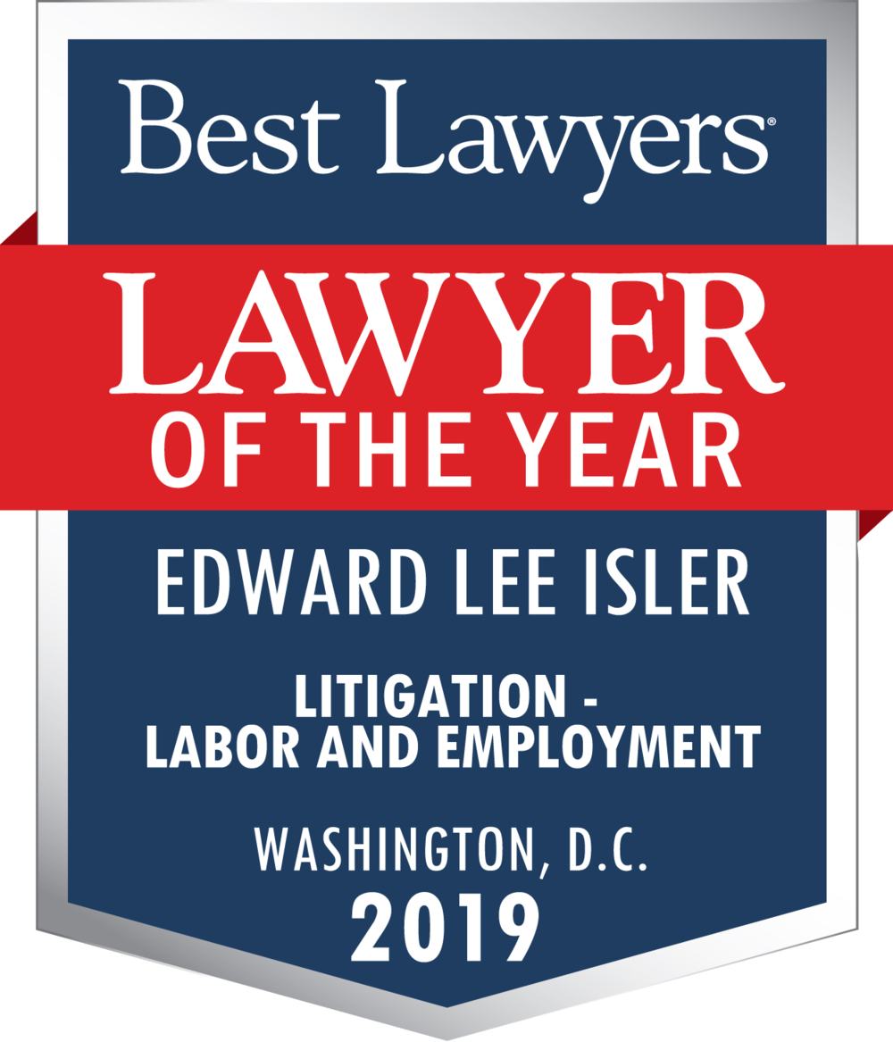 Edward Lee Isler Lawyer of the Year 2019.png