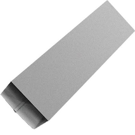 GALVALUME RECTANGLE DOWNSPOUT