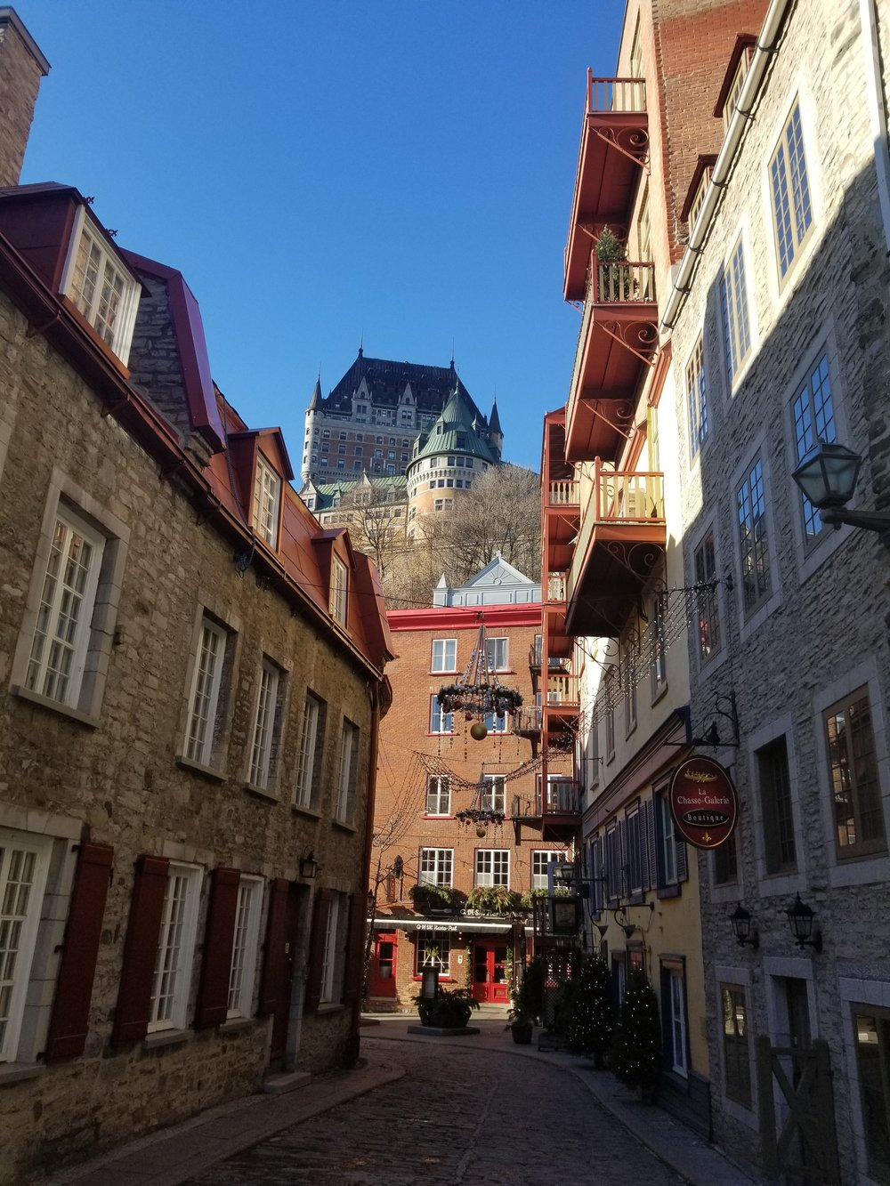 Quebec City!