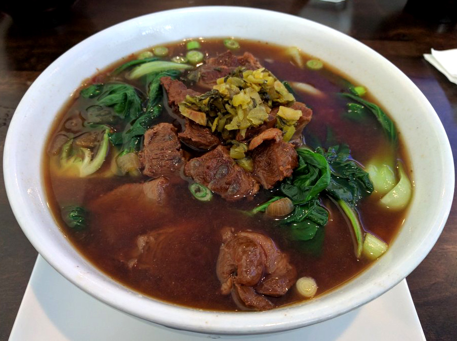 Taiwanese Beef Stewed Noodle Soup