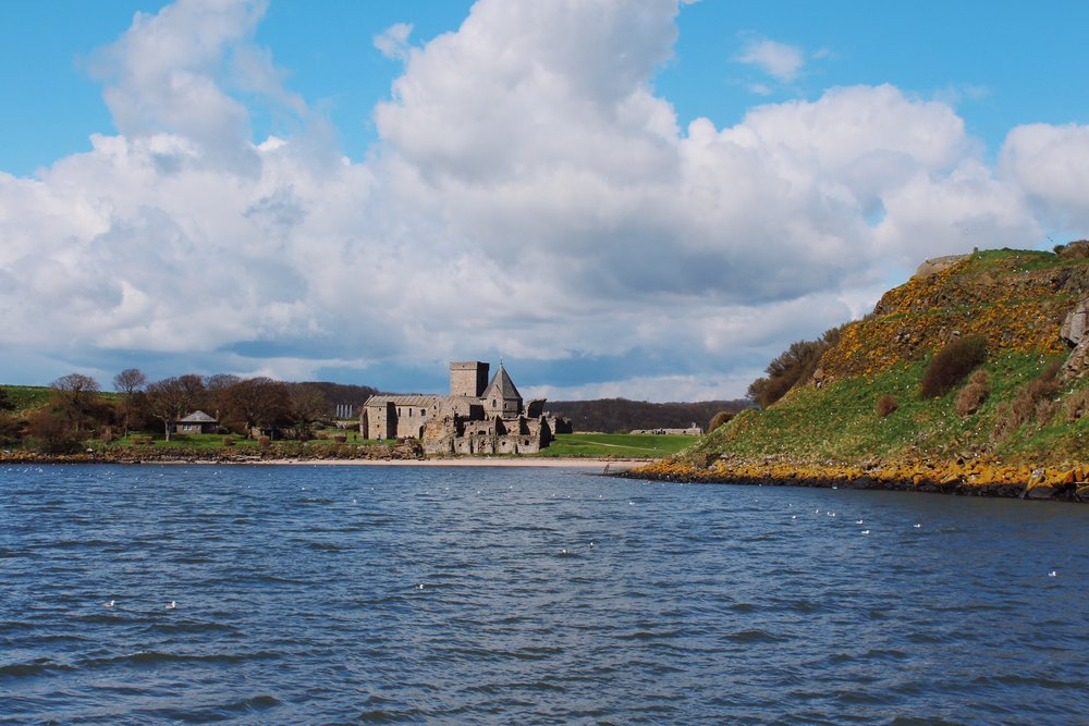 Inchcolm Abbey photographed from Maid of The Forth
