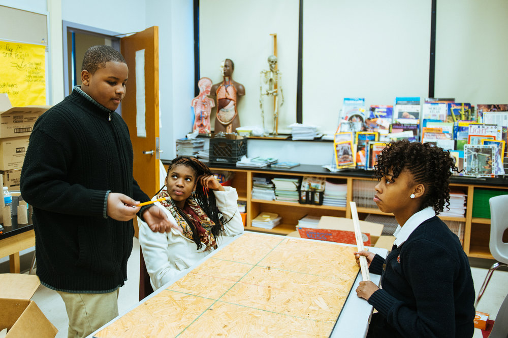 Supporting middle school students as they learn design thinking by modeling future cities...