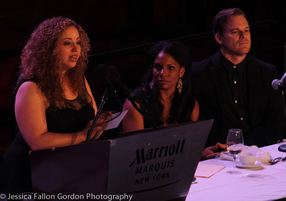Samantha Saltzman, Drama League Awards, Audra McDonald, Michael C. Hall