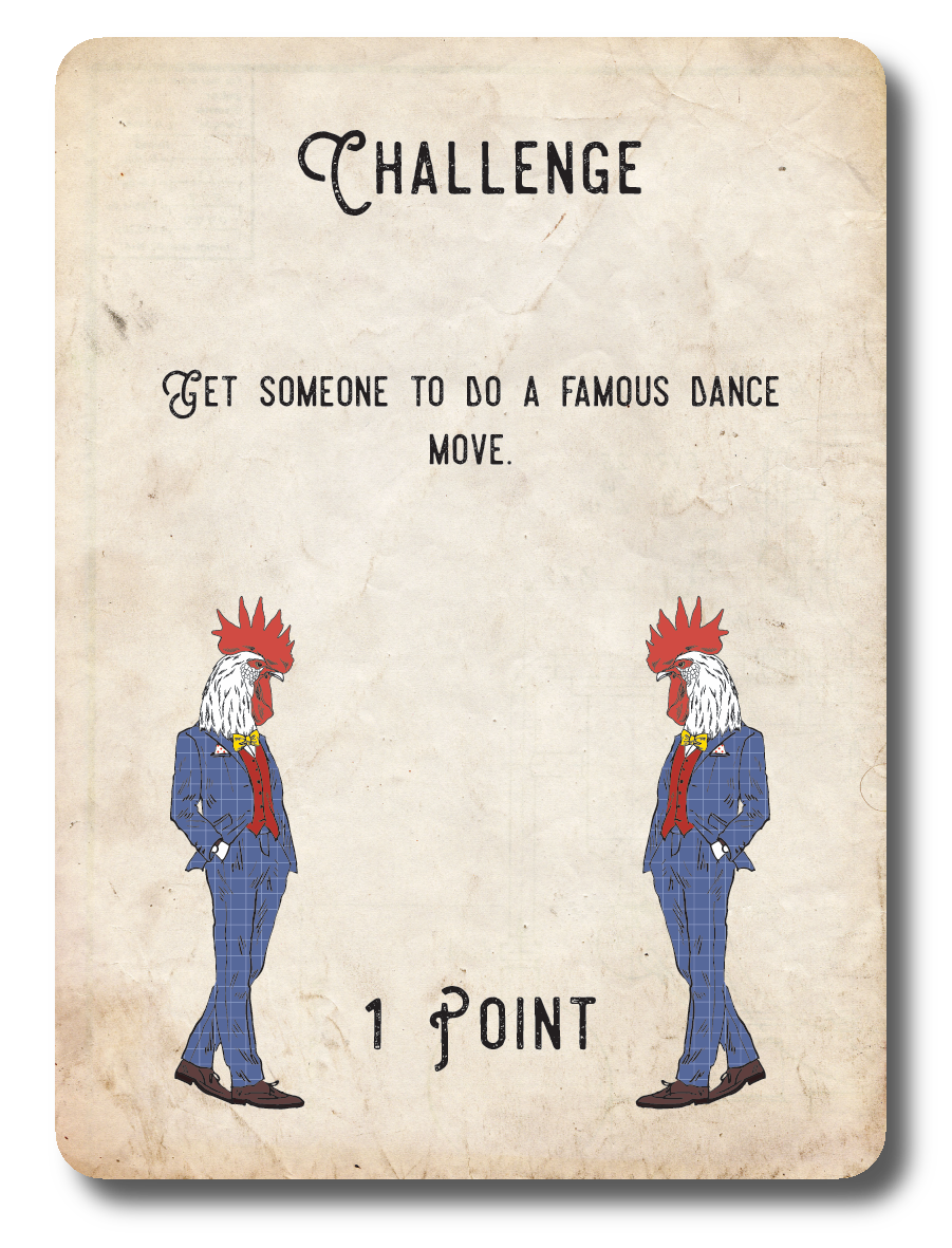 Challenge Card 012 on Transparent (Get someone to do a famous dance move).png