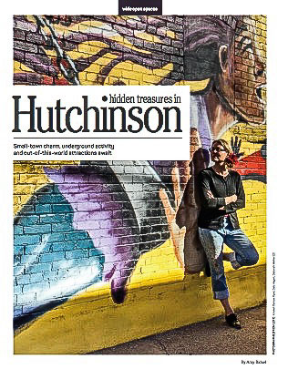 Hutchinson Magazine - Hutchinson Magazine has published several articles on murals facilitated during the ArtWalk on Third Thursday. Over the years there have been several murals by local and national artists placed on buildings in Hutchinson, Kansas.