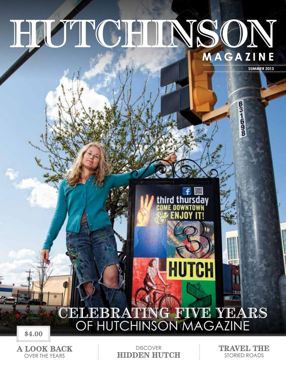 Hutchinson Magazine - Another Hutchinson Magazine article featuring Third Thursday on its cover as part of a celebration of businesses and events that have been a part of downtown Hutchinson for many years.I started Third Thursday in 2008, and have been organizing the event every month since the beginning.