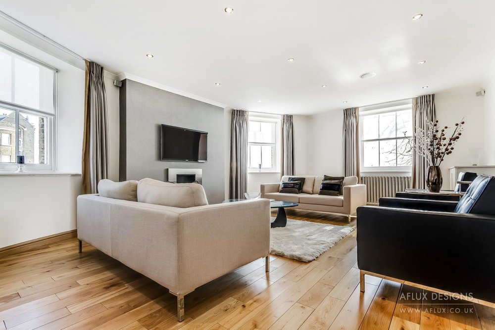 Wapping - LONDON E1A stunning river side second floor apartment called 'The Pierhead' in a hundred year plus grade eleven listed building. Designed for a buy to let investor with neutral colours but functional and creative looks to ensure its appeal to any tenant.