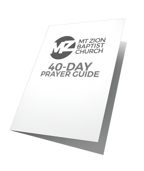 Download the Mt Zion Prayer Guide -