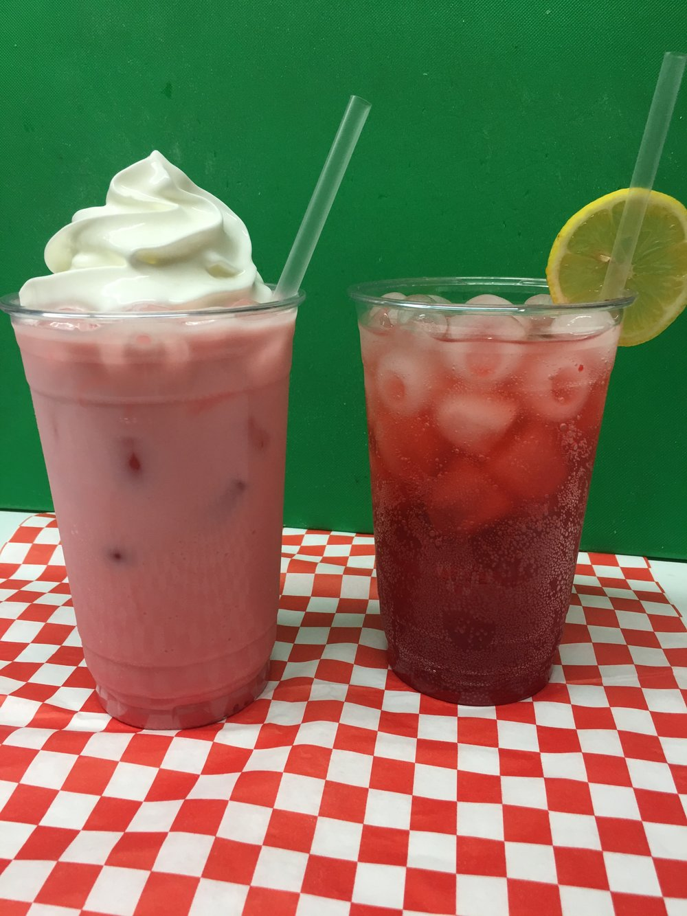 Italian Soda's&  Creamosa - Italian Soda's $3.50Bubbly flavored italian soda Peach, Raspberry, Strawberry, Kiwi.Cremosa $4Creamy whip cream topped Italian soda Peach, Raspberry.