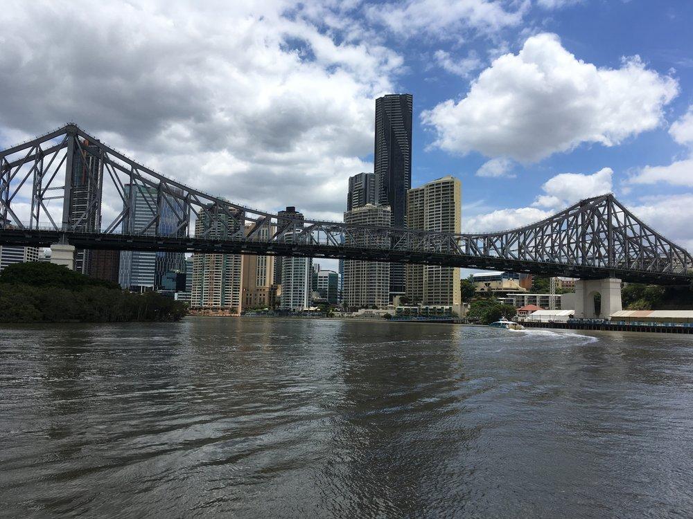 Story Bridge in CBD Brisbane.