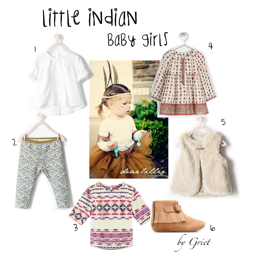 little indians baby girls
