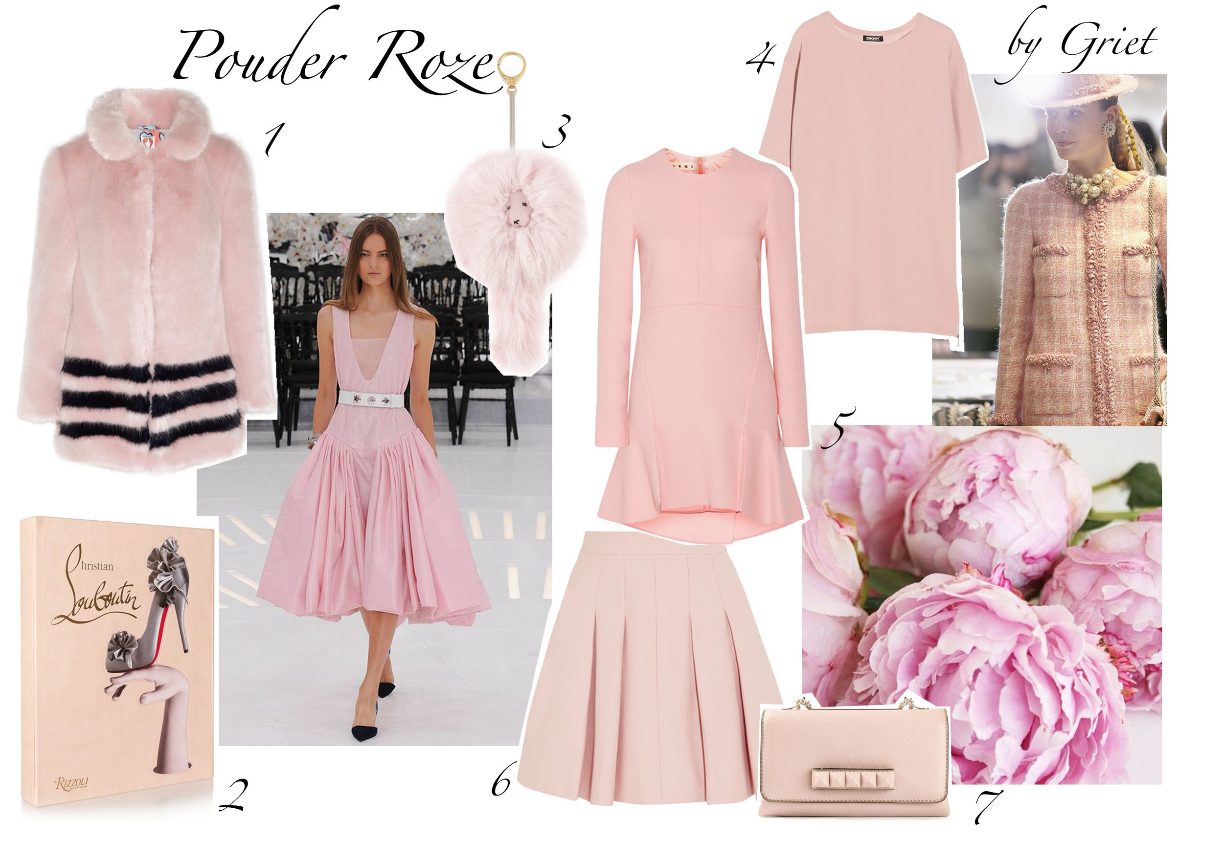 pouder roze