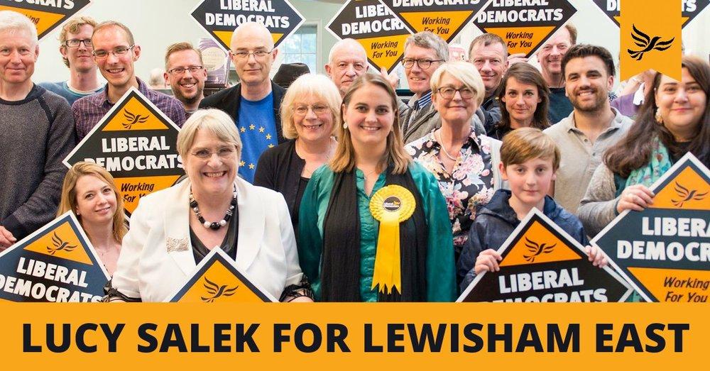 Lucy V Salek Lewisham East Liberal Democrat candiadte 2018.jpg