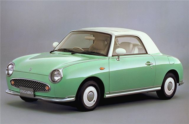 This is the cute top grey import from Nissan - never made in UK