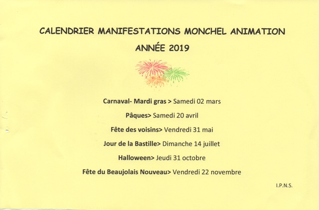 A year of fun and frivolity in Garry's commune. Typical of the community-based events that take place all over France
