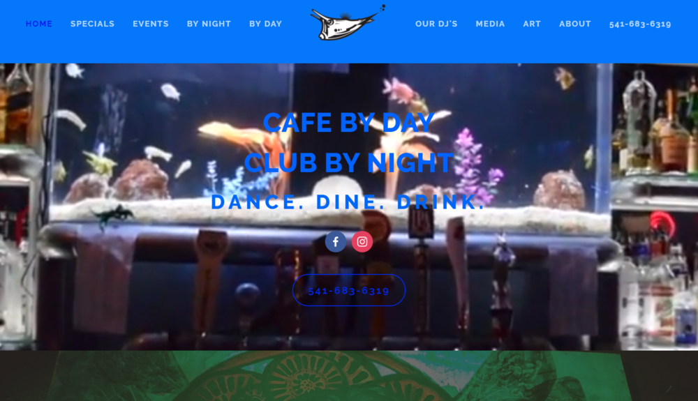 Cowfish Club & Cafe | Website, photos, video, copyright, slogan, SEO