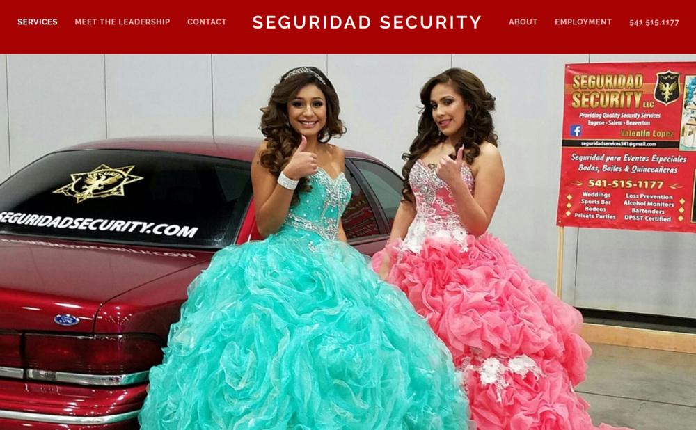 Copy of Seguridad Security | Website, video, copyright, seo