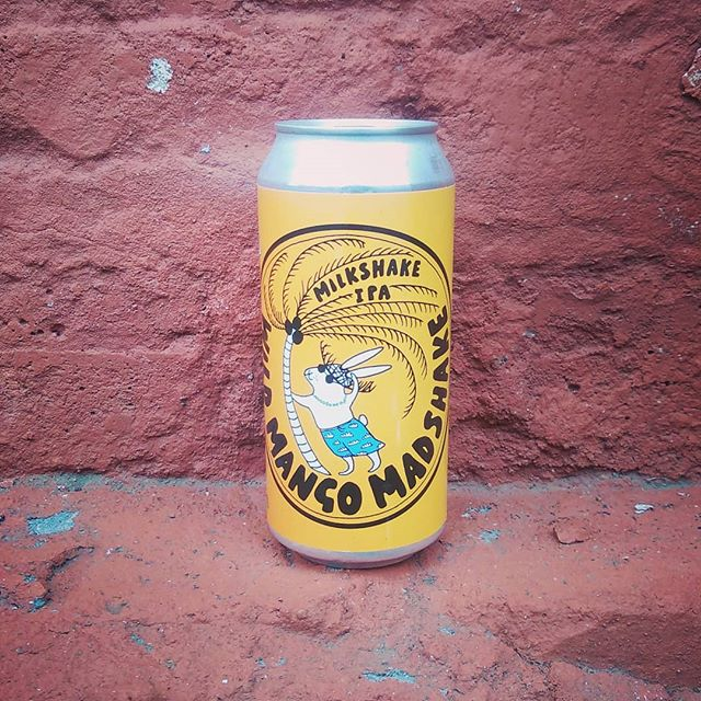 What do you get when you shake up some wild weather with some Madness and mangos. You get Wild Mango Madshake of course. Stuffed full of mangos and altogether funking delicious. Drink and enjoy. 5.1% 440ml can.