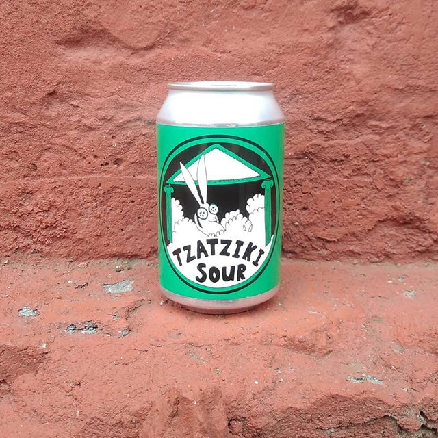 Kick back and relax with this drink of the Gods. Made using Greek yogurt to sour with added cucumber and mint. Yamas! 4.2% 330ml can. Also available in keg.