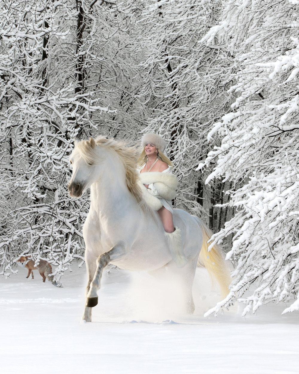carol in snow 16x20.jpg