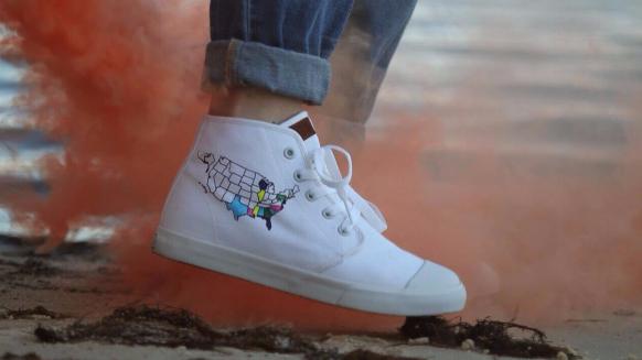 Photo courtesy of Aubrey Walton for BANGS Shoes.