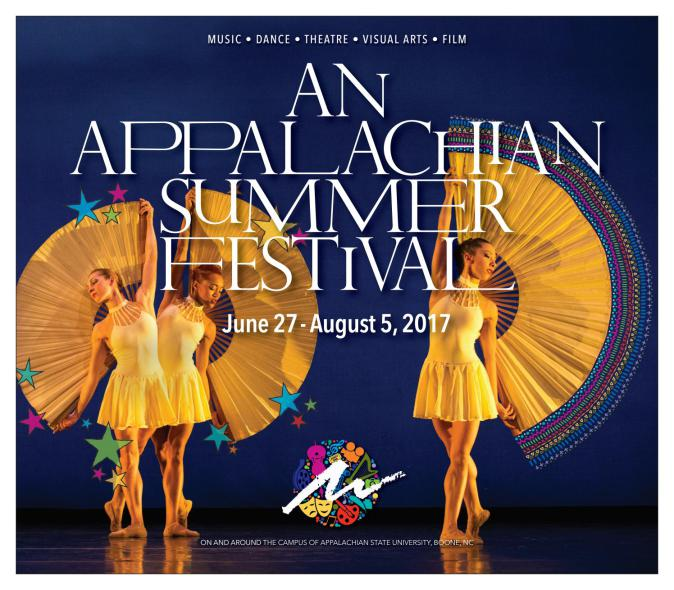 Poster Courtesy of the Appalachian Summer Festival