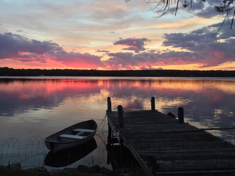 "Sunset Lines  Digital Photo  8x10"""