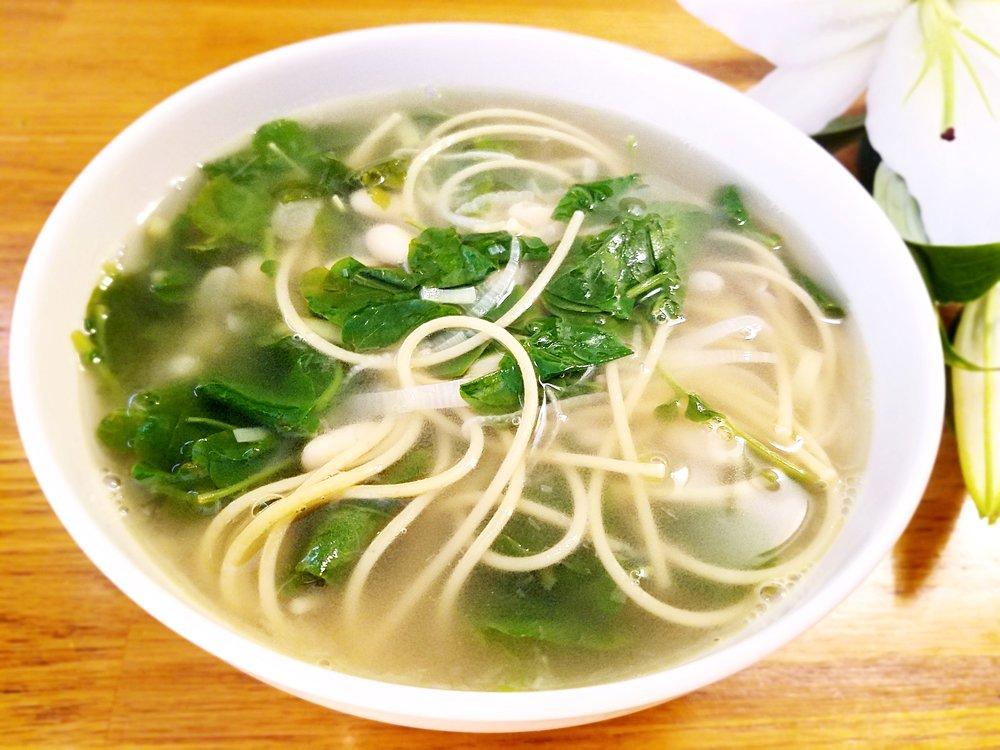 Watercress Mint Soup