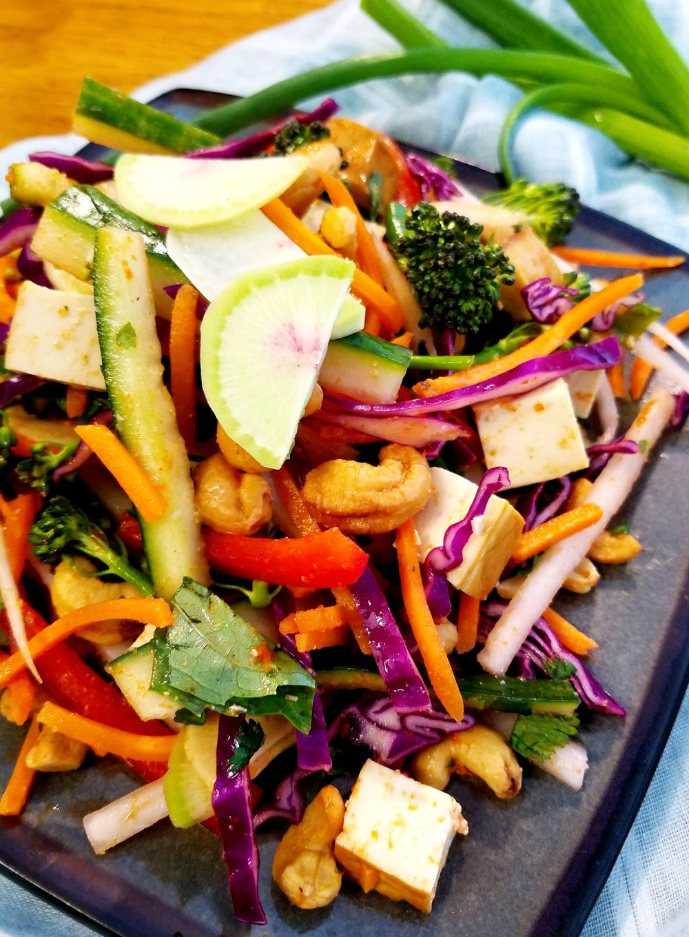 Red Curry Salad