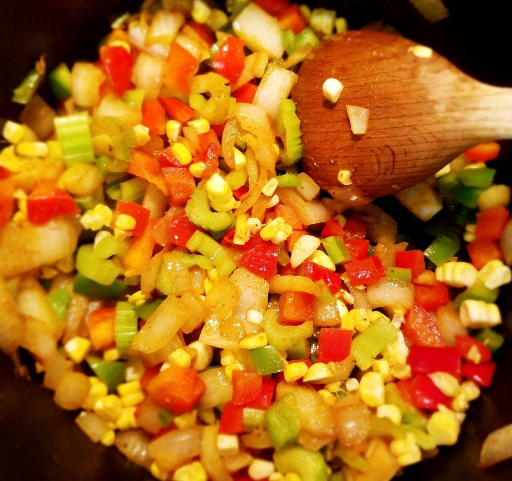 Cajun Black-Eyed Pea Soup
