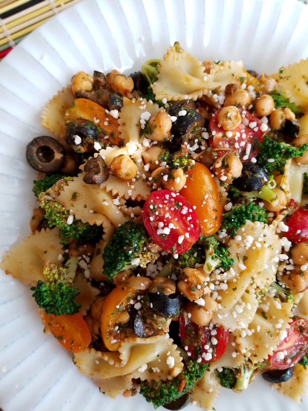 Broccoli Pasta Salad with Fresh Italian Herb Dressing.jpg