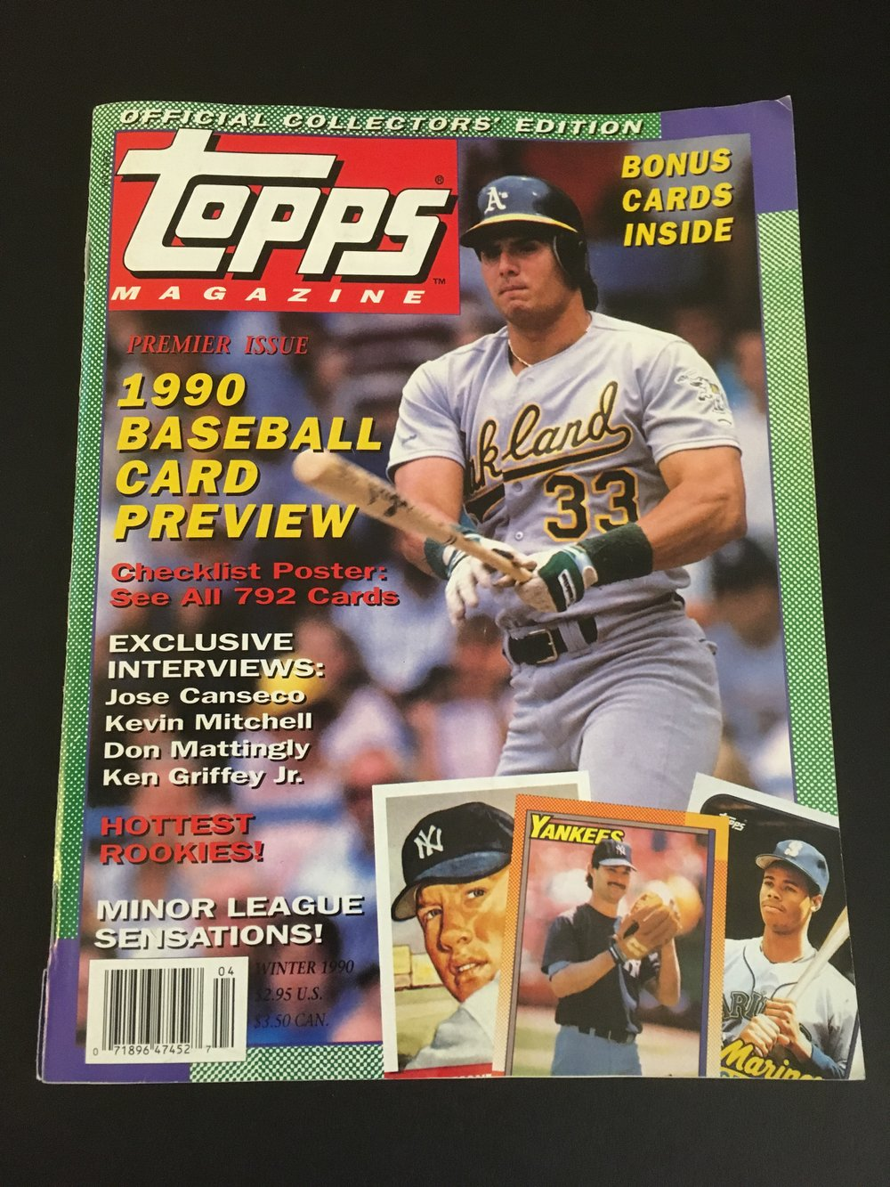 Topps-Magazine-First-Issue-Jose Canseco.JPG