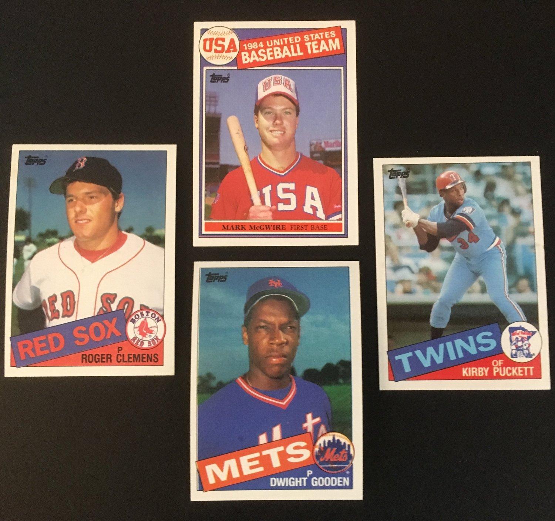 1985 Topps Rookies Galore Waxpackhero