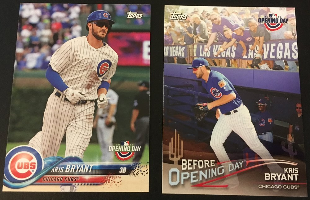 Here is the Kris Bryan Base card and Before Opening Day insert.