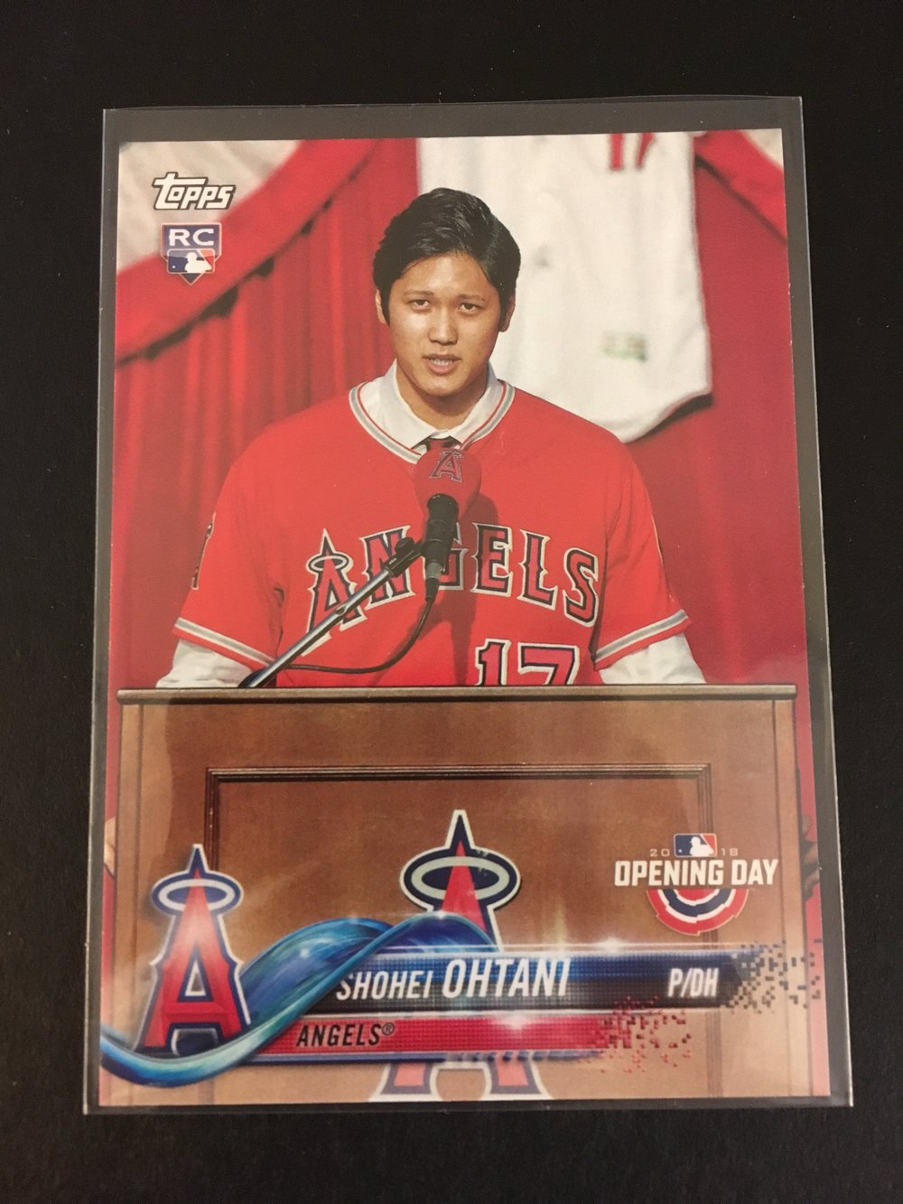 Here's Ohtani...