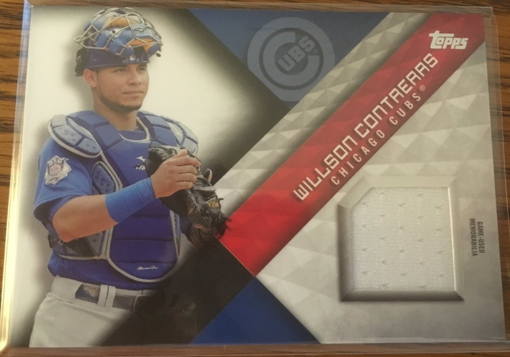 This Contreras is going to make a great addition to my personal collection!