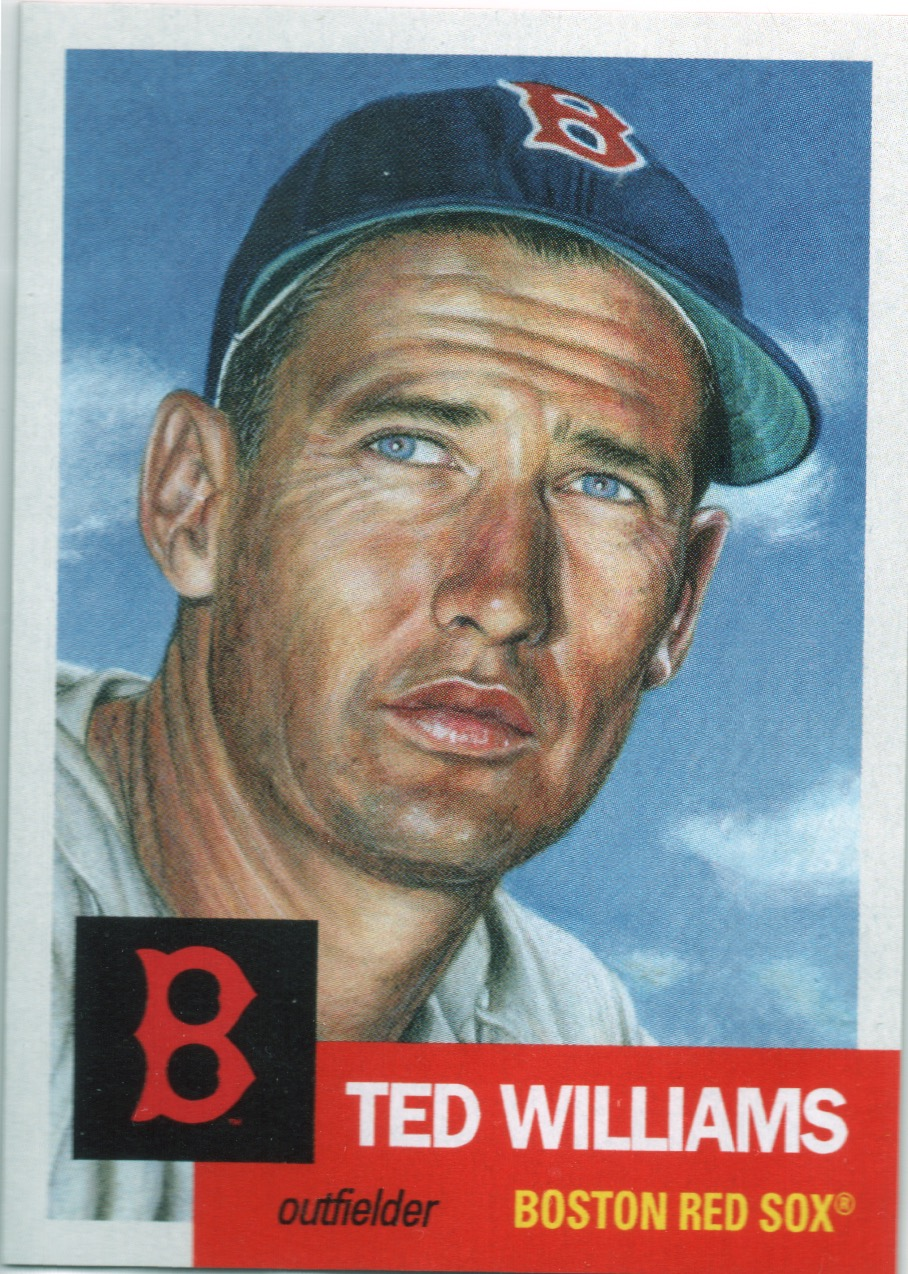 55. Ted Williams (10,927) -