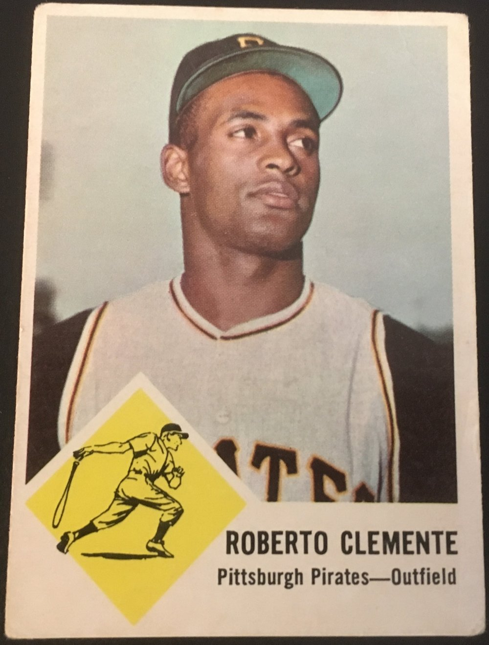The Clemente was the final card I needed to complete my set.
