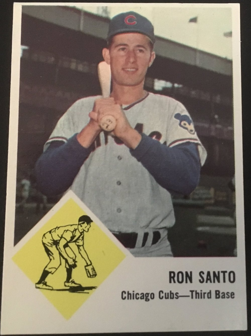Santo is my favorite Cub in the checklist!