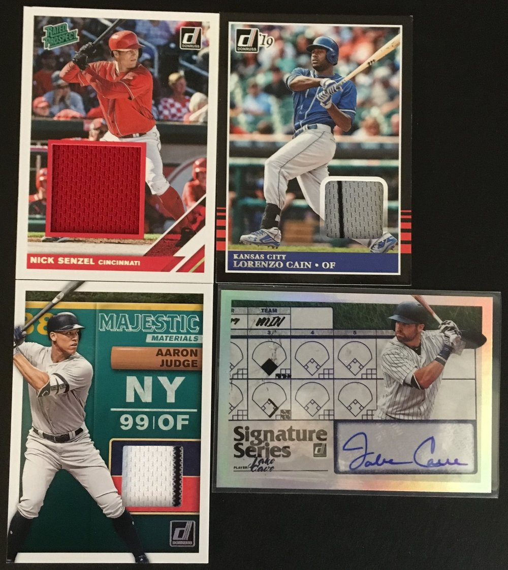 Here are the hits from my first box!