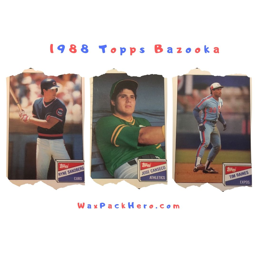 1988 Topps Bazooka Set Review And Checklist Waxpackhero