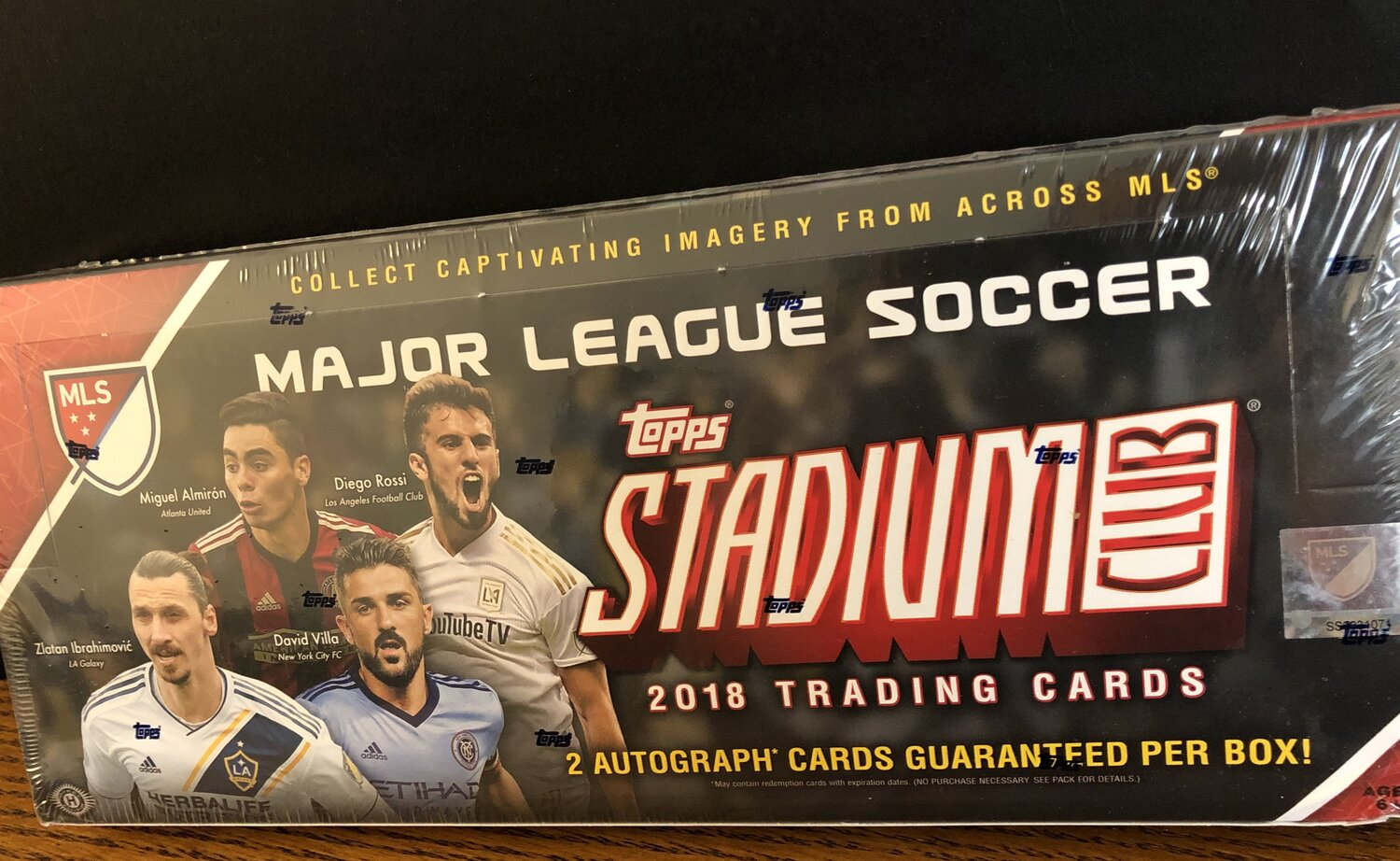 2018 Topps Stadium Club Mls Review Box Break And Checklist Waxpackhero