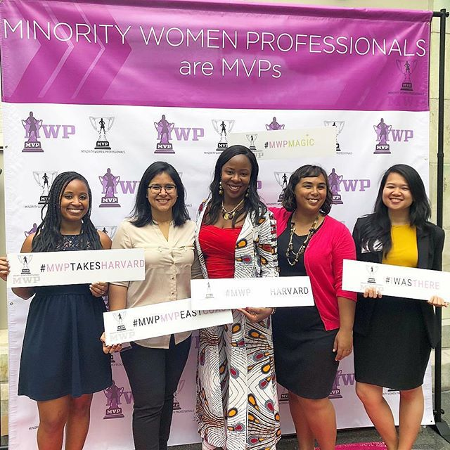 The #RubiconMD MVPs at #MWPMVPHarvard #MinorityWomenProfessionals