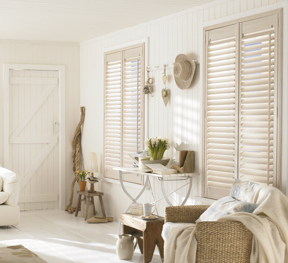 Beach House Full Height Shutters