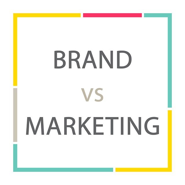 While branding and marketing are different, defining your brand is the first step to successful marketing. To learn more about building a strong brand foundation, stayed tuned for our next blog post. . . . #yeg #edmonton #yegmarketing #yegbranding #yegbiz #yegdesign #yeggraphicdesign #yegbrand #yeggers #yegdt