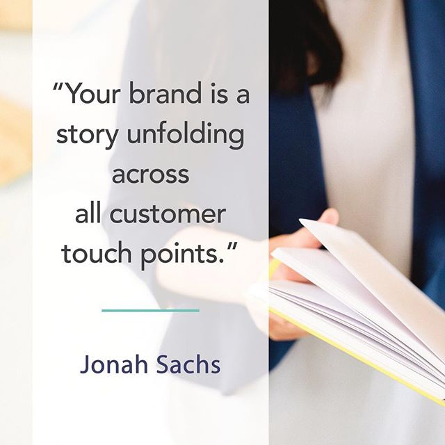 """Your brand is a story unfolding across all customer touch points."" - Jonah Sachs . . . . #yeg #yegbiz #edmonton #yeggraphicdesigner #yegbrand #yeggers #edmontonphoto #yegfamily #yegmarketing #780 #587 #yegbranding #yegdesign #yegmade"
