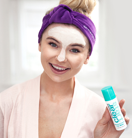 """my skin has been such a problem for so long and these are the only products that have worked"" Clear start ambassador Georgia 'Toff' Toffalo"