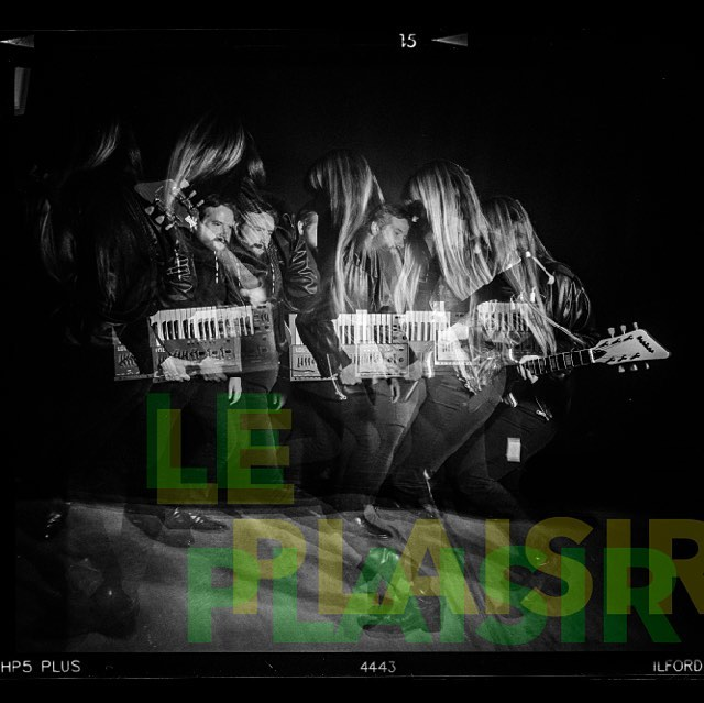 "Le Plaisir's EP - ""No Ordinary Wave"" is due for it's US release real soon! That and other EXCITING NEWS coming soon! Canadian dates! New merch! New songs! New video! Sleep is for chumps! Stay tuned and tell your friends we're coming for them. ⚡️#newrelease #leplaisir #LAmusic #sotd #sharingiscaring #buymyrecord #wfmu #spacerock #duo"