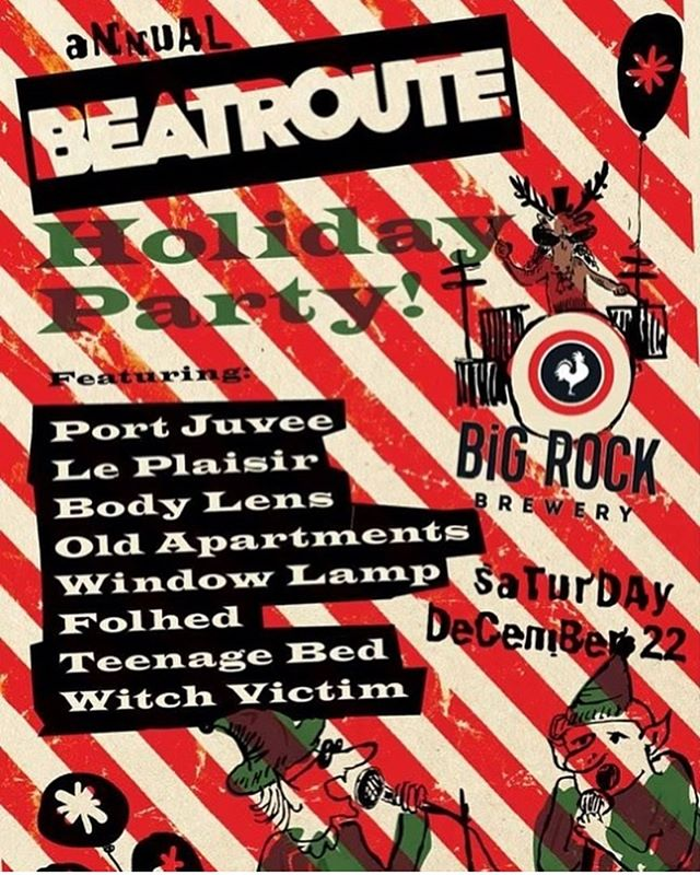 We've been missing you, Calgary! So very very excited to be playing the @beatrouteab Holiday Party at @palominosmokehouse It's always one of the greatest parties of the year and we totally can't wait to get festive with our Calgary buds! ✨