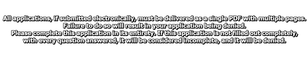 All applications must be.png